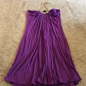 SKY princess halter dress. Purple Size M.